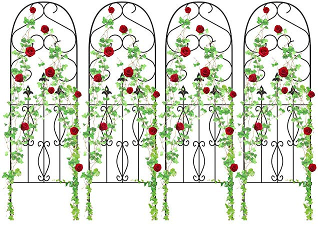 Опора для плетистой розы фото